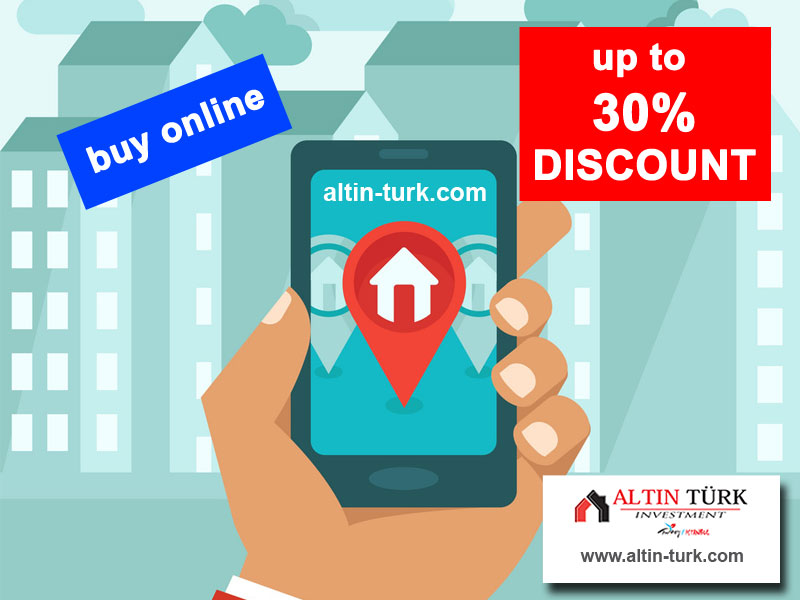 How to buy 30% discount real estate from Istanbul ?>