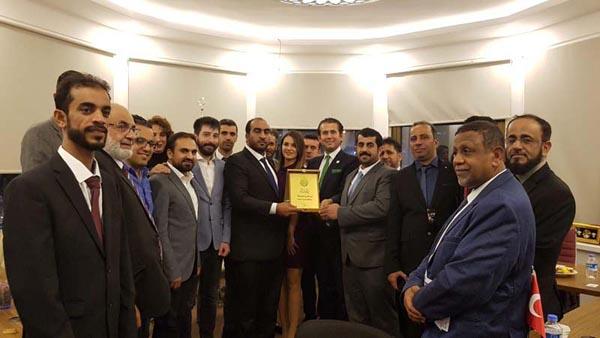 Altın Türk Investment welcomed officials of Oman chamber of commerce and businessmen