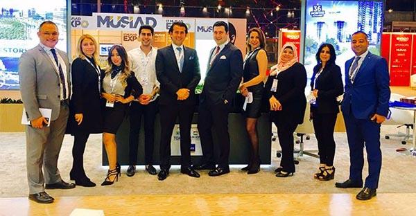 AltınTürk investment was in Qatar EXPO TURKEY with Artaş inşaat