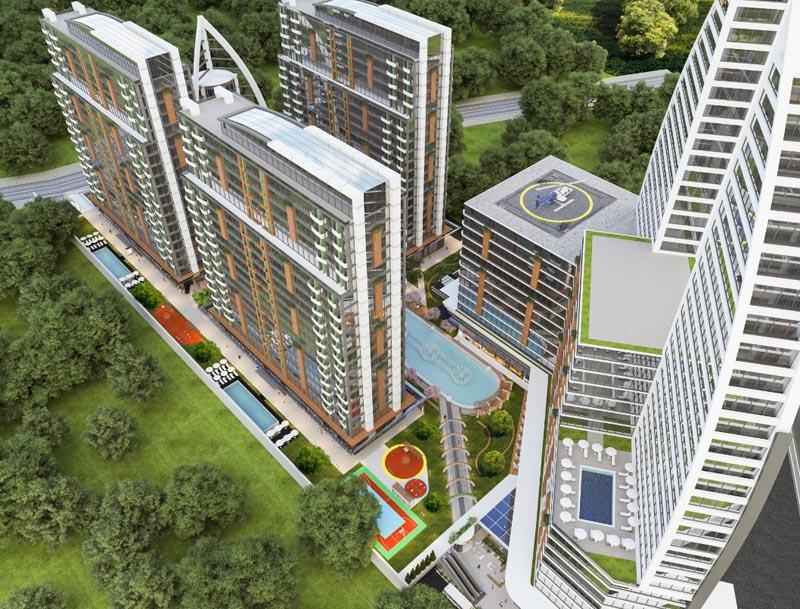 Water Garden Park Residence In Istanbul Esenyurt Altin Turk Investment Portal And Real Estate In Turkey