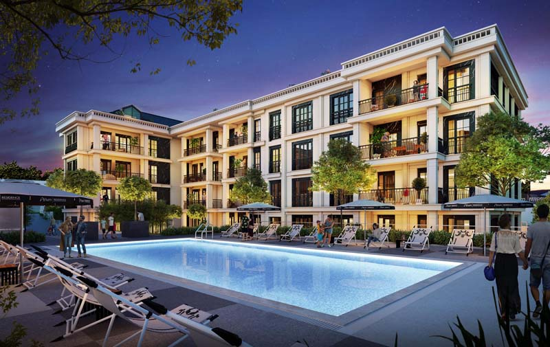 Istanbul, Eyup Sultan Luxuary Project Starting Price 177.709 $