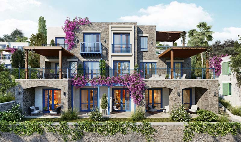 Bodrum, Yalıkavak Ready to move Apartments and Villas