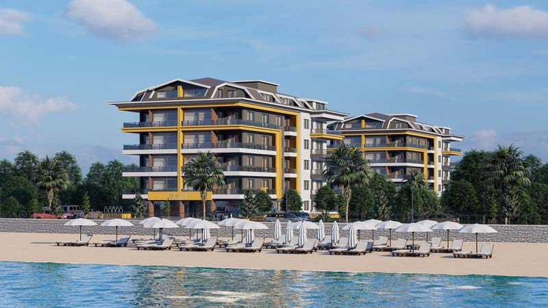 Alanya, Luxury Project Ready to Move Starting Price 77.500 €
