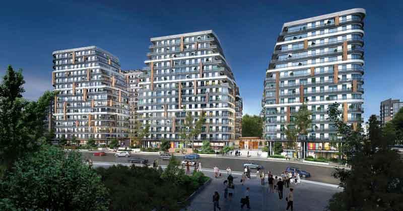 Apartment for sale in City Center Kağıthane Istanbul