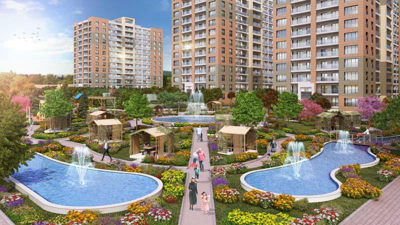 Family Apartment in Istanbul Beylikduzu
