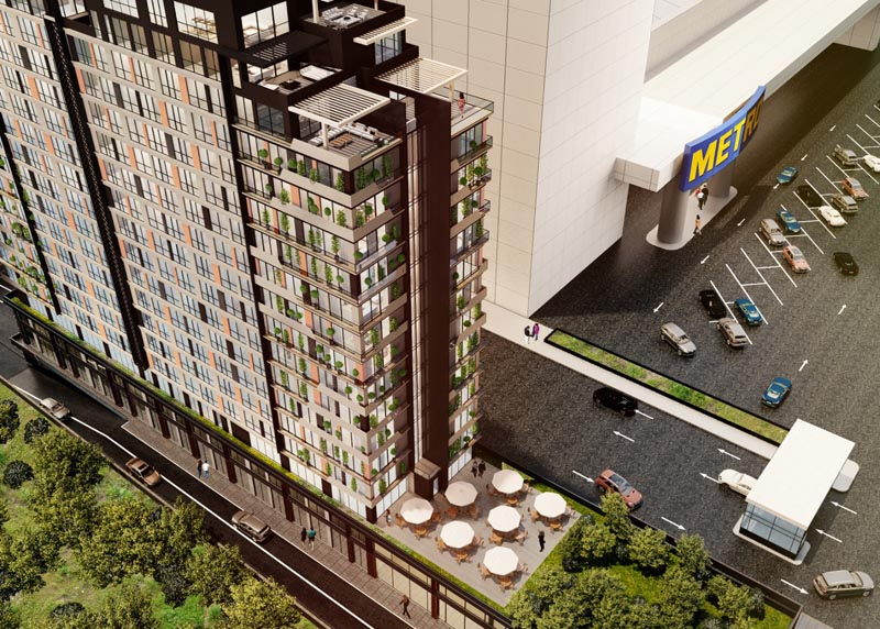 İstanbul Kağıthane Apartment and Office Concept