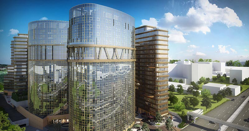 Luxury property and office for sale in Istanbul, Ataköy