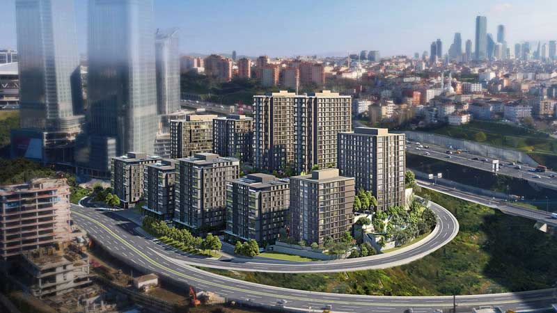 Luxury and Quality Life in Maslak Istanbul